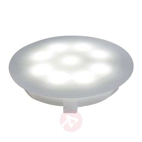 LED-downlight polykarbonaatti 6500 K satin. 1x1 W