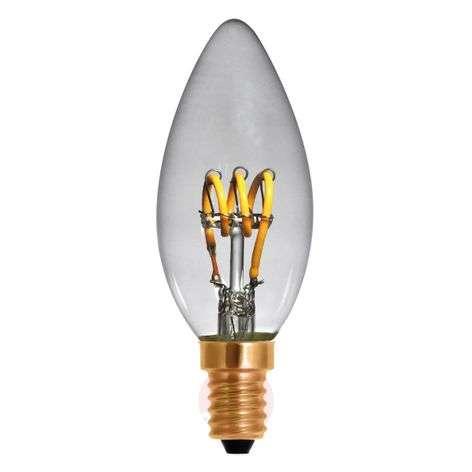 LED-filamentti-kynttilä Curved Line E14 2,7W 922
