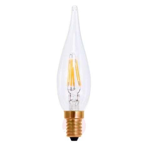 LED-filamentti-kynttilälamppu E10 1,5W