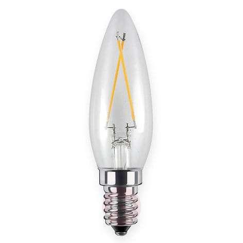 LED-filamentti-kynttilälamppu E14 2,2W 926