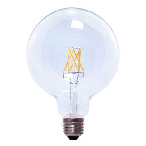 LED-filamentti-pallolamppu G125 E27 6W 926