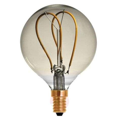 LED-filamenttipallo G80 Curved Line E14 4W 922