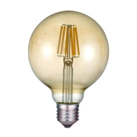 LED-globe-lamppu E27 6W 2700K meripihka