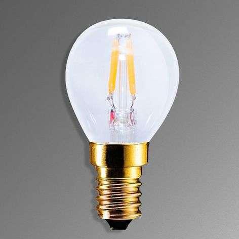 LED-hehkulamppu E14 2,2W 922 hiililangalla