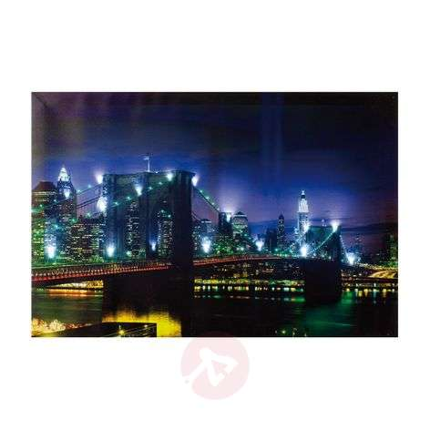 LED-käyttöinen Bridge-valotaulu, 60 x 40 cm