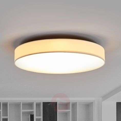LED-kangaskattolamppu Saira, 50 cm, valkoinen