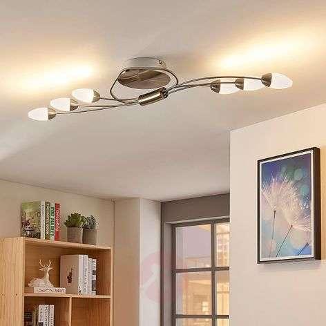 LED-kattolamppu Deyan, 6-lampp. pitkänomainen