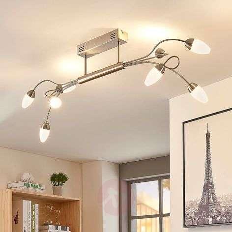 LED-kattolamppu Deyan, 8-lamppuinen