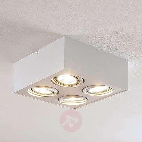 LED-kattolamppu Dwight valkoinen, 4-lamppuinen