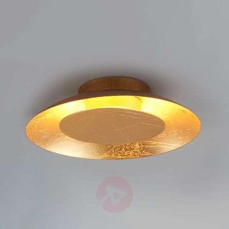 LED-kattolamppu Keti, kultaoptiikka, Ø 21,5 cm