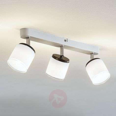 LED-kattospotti Futura, 3-lamppuinen, pitkä