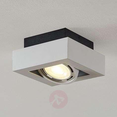 LED-kattospotti Ronka, GU10, 1-lamppuinen, valk.