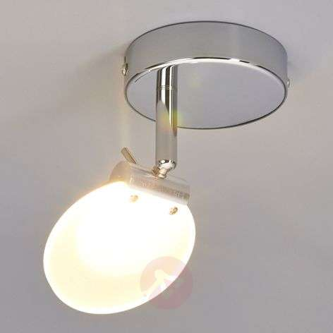 LED-kattospotti Sena satinoidulla lasilevyllä