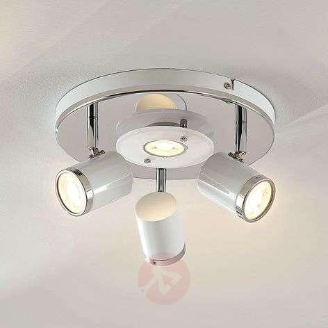 LED-kattovalaisin Alsuna, 4-lamppuinen, Ø 26cm