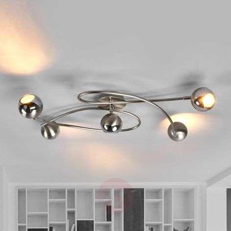 LED-kattovalaisin Arvin, matta nikkeli-9970121-31
