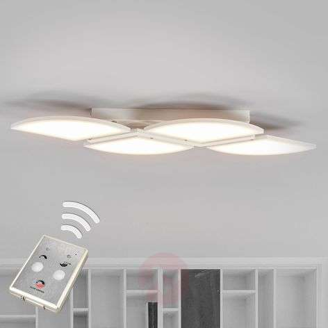LED-kattovalaisin Aurela valkoinen 4-lamppuinen