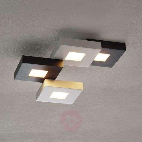 LED-kattovalaisin Cubus mustavalk. 4-lamppuinen-1556076-31