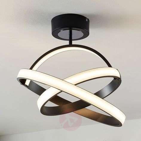 LED-kattovalaisin Halima, himmennettävä, rengas