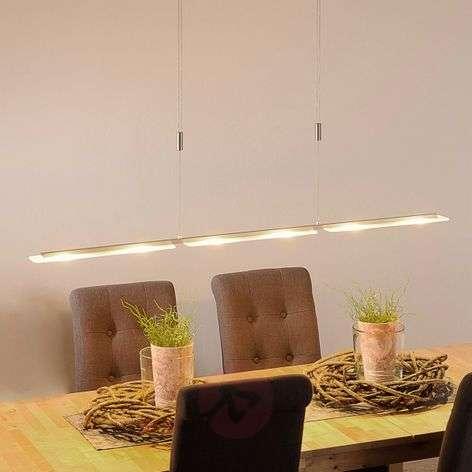 LED-kattovalaisin Mala alumiinia ja lasia