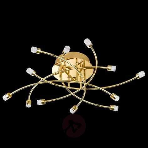 LED-kattovalaisin Star messinkiä, himmennettävä