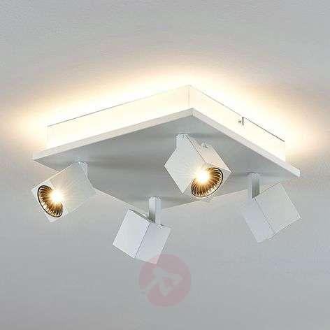 LED-kattovalaisin Taly, 4 kohdevalaisinta, neliö