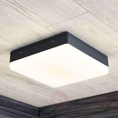 LED-kattovalaisin Thilo, harmaa, 24 cm
