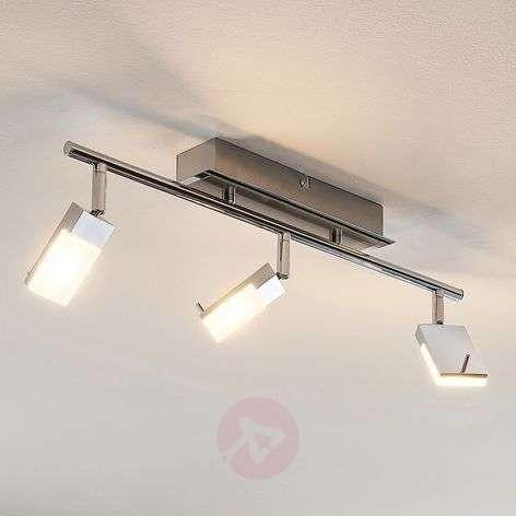 LED-kohdevalaisin Alija, kromattu, 3-lamppuinen