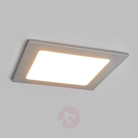 LED-kohdevalo Joki hopea 3000K kulmikas 16,5 cm
