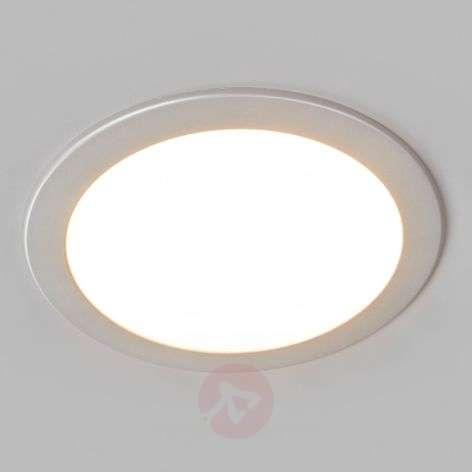 LED-kohdevalo Joki hopea 3000K pyöreä 24 cm