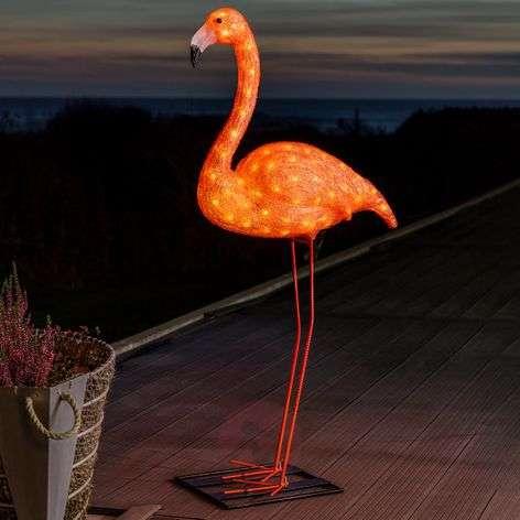 LED-koristevalaisin Flamingo