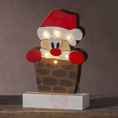 LED-koristevalaisin joulupukki Freddy