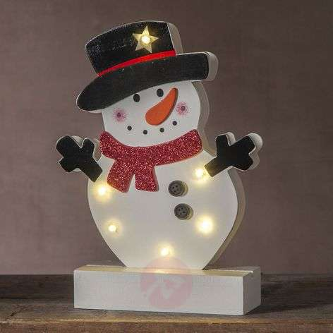 LED-koristevalaisin lumiukko Freddy