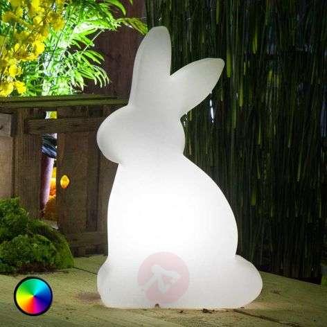 LED-koristevalaisin Shining Rabbit, 50 cm