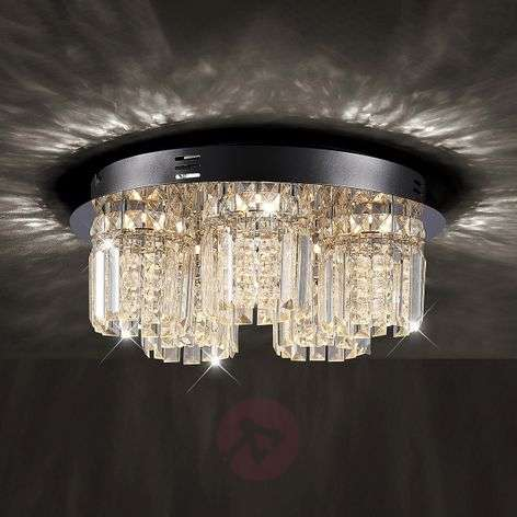 LED-kristallikattovalaisin Shari, 5-lampp. himm.