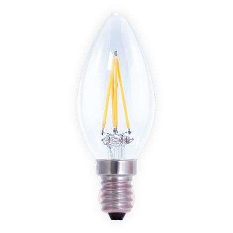 LED-kynttilälamppu E14 4W, himmennettävä