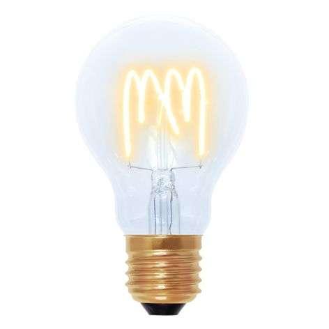 LED-lamppu Curved Line E27 4W 922