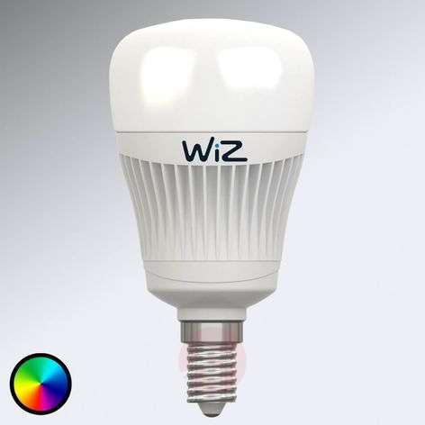 LED-lamppu E14 WiZ, ei kaukosäädintä, RGB + valk.