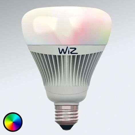 LED-lamppu E27 WiZ, ei kaukosäädintä, RGB + valk.