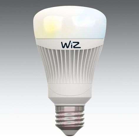 LED-lamppu E27 WiZ, ilman kaukosäädintä, valkoinen