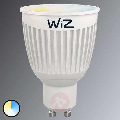 LED-lamppu GU10 WiZ, ilman kaukosäädintä, valk.