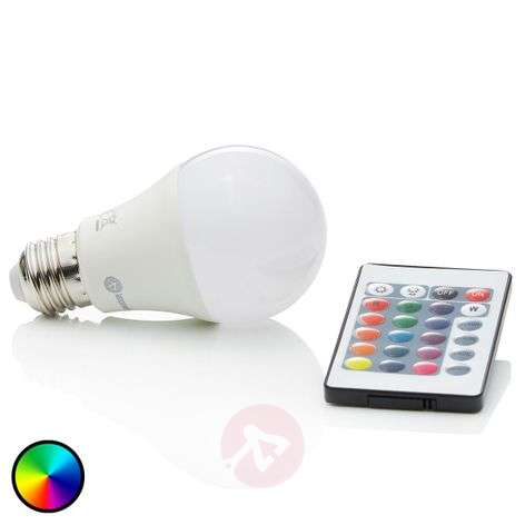 LED-lamppu RGBW E27 7 W, 500 lm