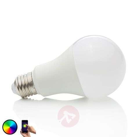 LED-lamppu Wifi E27 10 W, 2700 K, RGB, himm.