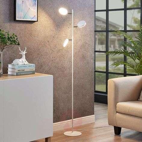 LED-lattiavalaisin Amrit, 3-lamppuinen, valkoinen
