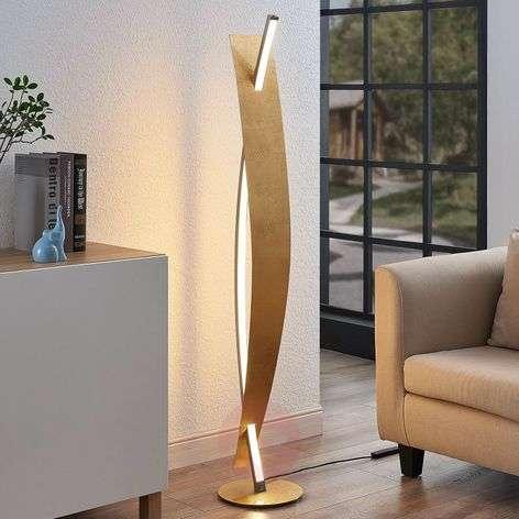 LED-lattiavalaisin Marija, ylellinen kultaoptiikka
