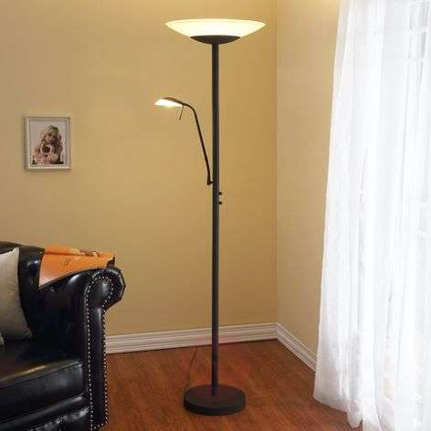 LED-lattiavalaisin Ragna lukuvalolla, ruoste