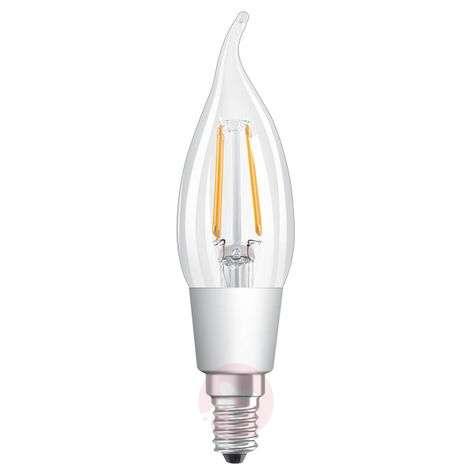 LED-liekkivalo E14 4,5W,lämmin valkoinen, kirkas