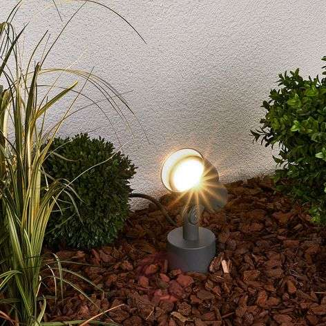LED-maapiikkikohdevalo Elvan ulkoalueelle