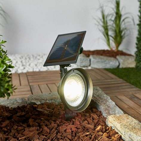 LED-maapiikkikohdevalo Riley aurinkokennolla