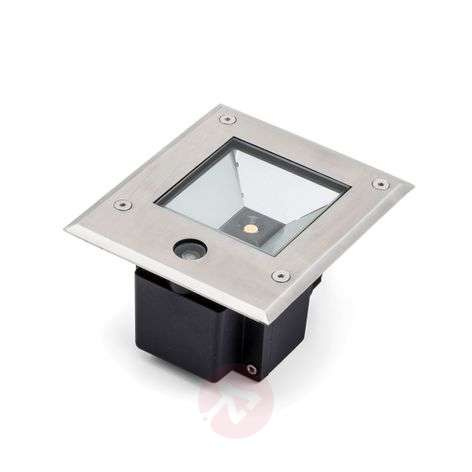 LED-maaspotti Dale 9W, hämärätunnistin