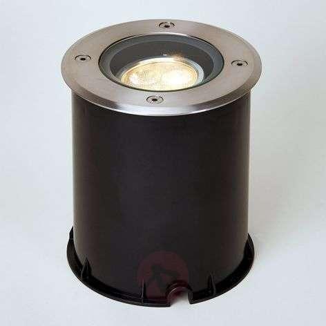 LED-maavalaisin käännettävä, IP67, ruostum. teräs